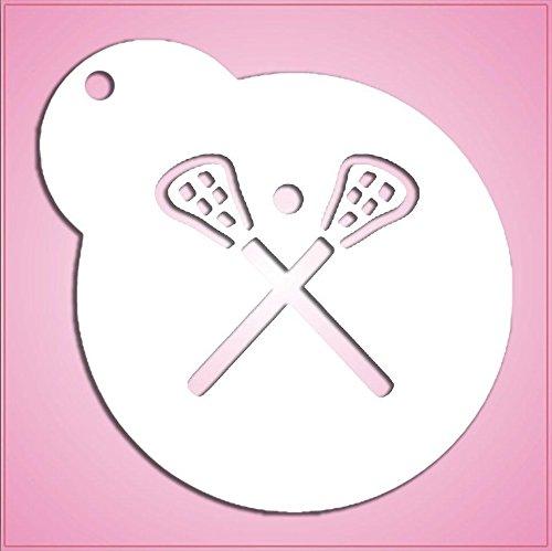 CusCus Lacrosse Stencil Cookie Cutter