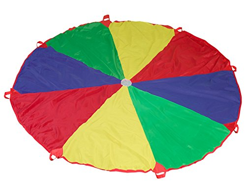 Science Purchase Parachute with 8 handles Game, 12' by Science Purchase