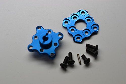HPI Sprint 2 Upgrade Parts Aluminum Spur Gear Hub With Pin - 1Set Blue