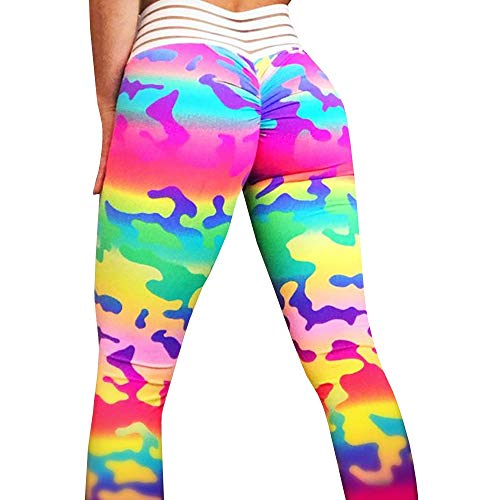 Meilidress Womens Ruched Butt Lifting Leggings High Waisted Workout Sport Tummy Control Gym Yoga Pants (X-Large, 3-Picture Color)