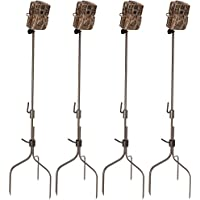 (4) Moultrie Universal Infrared Game Hunting Camera Steel Stakes | MCA-13051