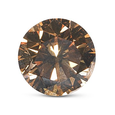GIA Certified Natural Fancy Dark Orangy Brown (1pc) Loose Diamond – 1.60 Cts – 7.44×7.50×4.70 mm I1 Clarity Round Brilliant