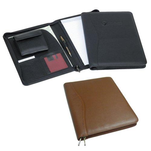 Zip-Around PadFolio Color: Black (Around Padfolio Zip)