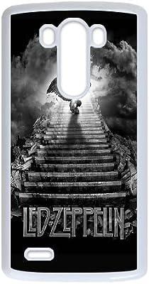 G3 caso Led Zeppelin Escalera al cielo D6W72N5IA funda LG Funda 27DP1P blanco: Amazon.es: Electrónica