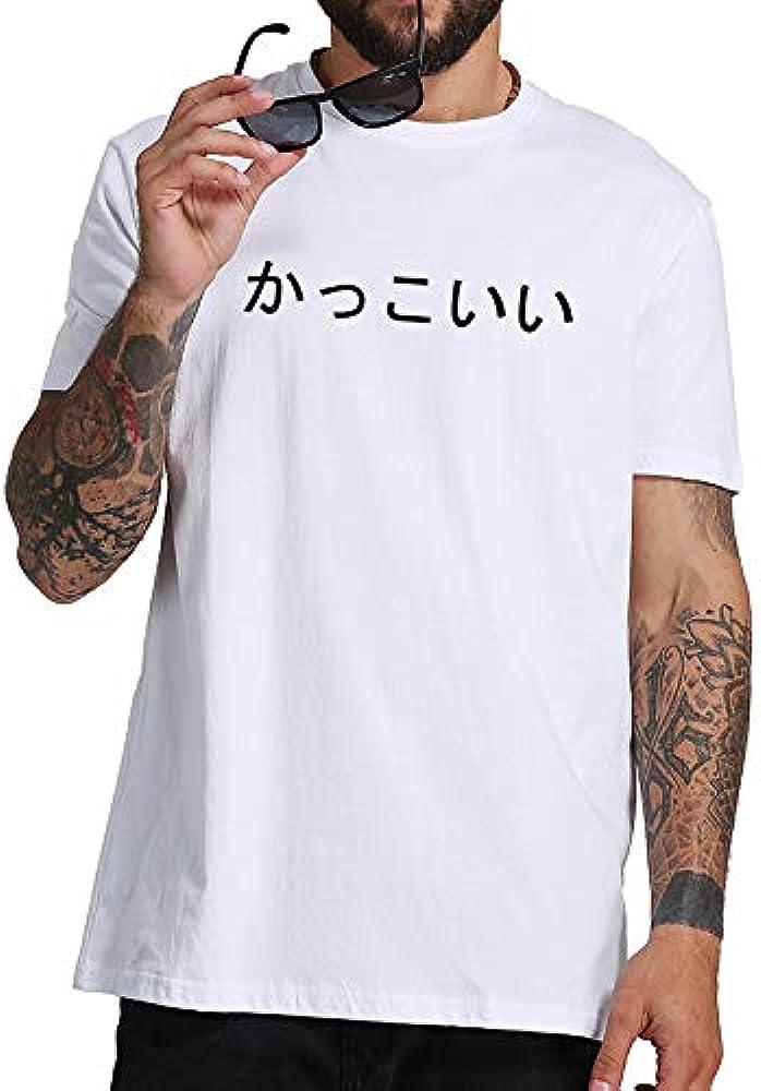DDHHJJ Camiseta Japonesa Homme Cool Eat Ass Significado Divertido Camiseta Hombres Japón Estilo Algodón Camiseta Broma Drop Ship M-XXXXL: Amazon.es: Ropa y accesorios
