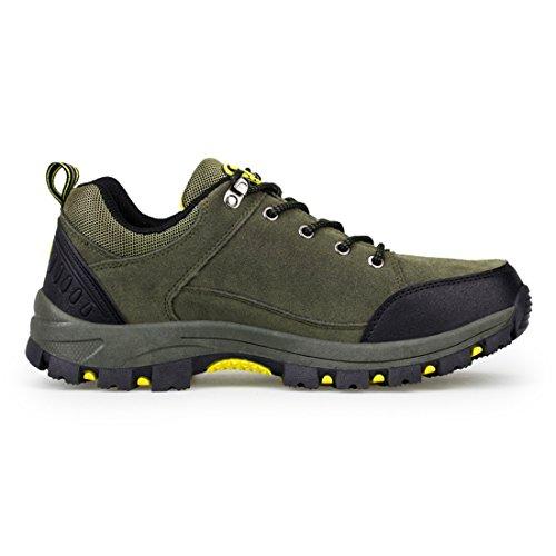 ailishabroy - Zapatillas de escalada de Ante para hombre Verde