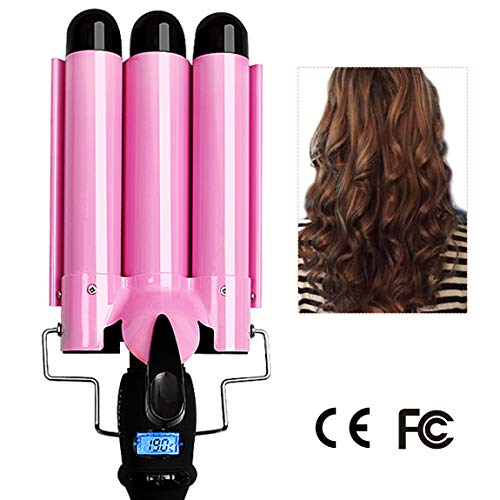 - 3 Barrel Curling Iron Hot Tools Curling Iron Fast Heating Ceramic Hair Waver Curler 25mm Hair Curling Wand (style1)