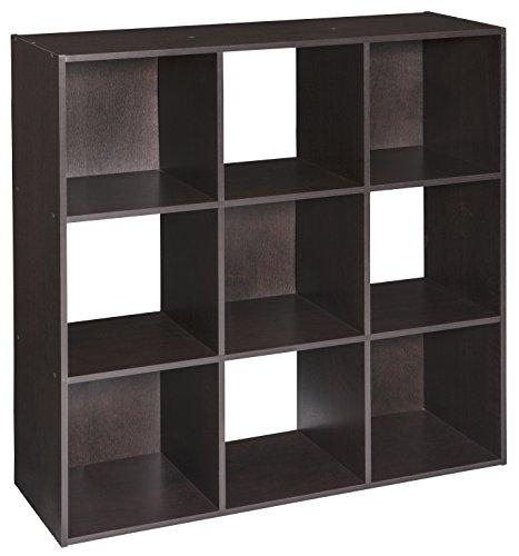 ClosetMaid (4187) Cubeicals Organizer, 9-Cube - Chocolate