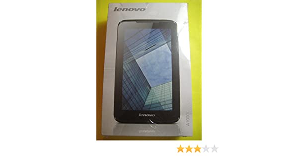 Lenovo IdeaTab A1000 7-inch Tablet w/ Android 4 1Jelly Bean, Cortex-A9  1 9GHz Dual Core CPU, 16GB Storage