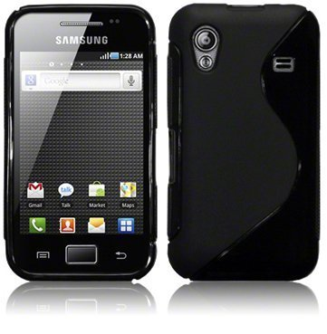 black s type wave case for samsung s5830 galaxy ace gt s5830 rh amazon co uk samsung galaxy ace gt-s5830 instruction manual Samsung Galaxy GT-S5830