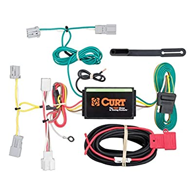 CURT 56219 Vehicle-Side Custom 4-Pin Trailer Wiring Harness for Select Honda Civic: Automotive