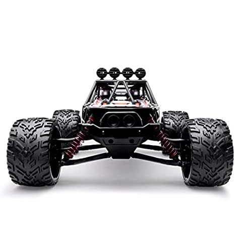 HOSIM New Version RC Truck 9123, 1/12 Scale Radio Controlled Electric Car - 38km/h Offroad 2.4Ghz 2WD Radio Controlled Truggy - Best Gift for all Car Enthusiast - Performance Brushless System