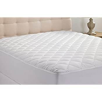 Adorable 100-Percent Polyester Anchor Band Mattress Pad, Queen