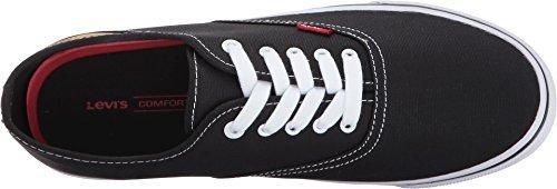 Levi's Shoes  Men's Buck CT Canvas Black - Sneaker Buck