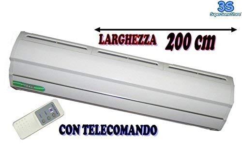 telecomando in dotazione Barriera daria elettrica centrifuga cm.200