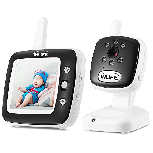 INLIFE Digital Video Baby Monitor with Wireless Camera, 3.5