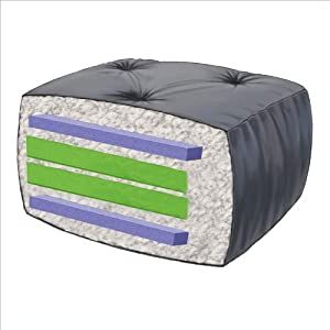 cotton and foam futon mattress thickness 8 color navy