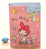 Kawaii My Melody 6 Fold Sticky Notes Memo Pad (Pink)