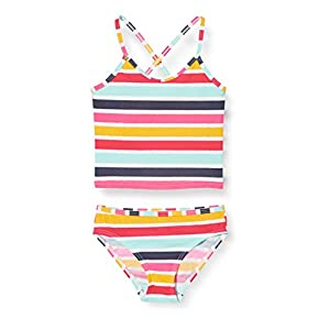 ESPRIT Girl's Treasure Beach Mg Tankini+Mini Bikini Set