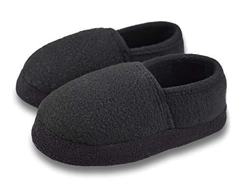 Little Kids Big Kids Warm Plush Slippers Soft Memory Foam Slip-on Indoor Shoes