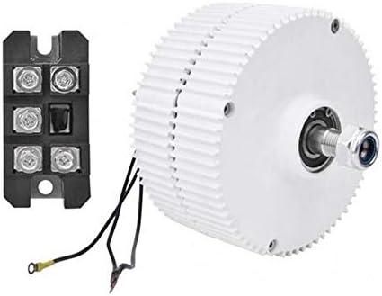 MEIGONGJU 3-Phasen-Wechselstromgenerator Windturbine Permanentmagnet-Generator Synchron-Generator NE-300 Elektromotor