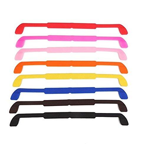 8PCS Kids gel degli occhiali cordone laccio Holder colorato ZYCX123