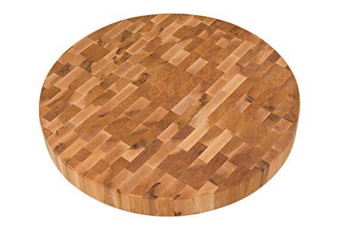 Canadian Maple Round Butcher Block (18dia.x2) L18002 ()