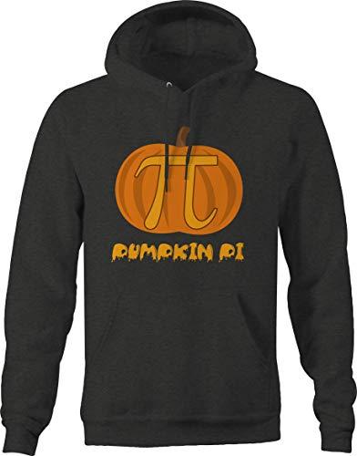 Pumpkin Pi 3.14 Math Halloween Joke Sweatshirt - Large ()