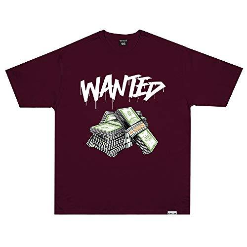 Camiseta Wanted - Authentic Vermelho Cor:Vermelho;Tamanho:M
