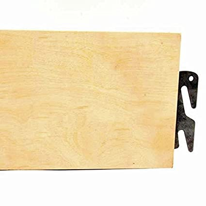 Bed Claw Heavy Duty Hook On 82 Long Replacement Queenking Wood Bed Side Rails Unfinished