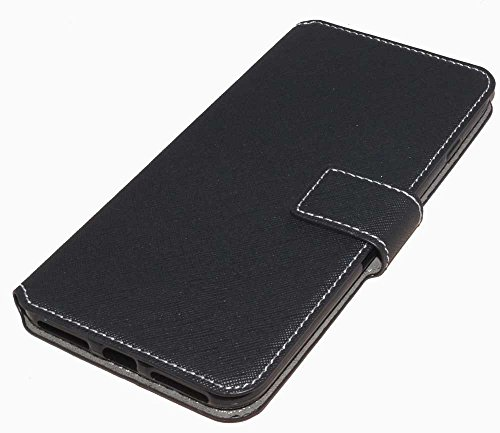 Handy Tasche Case book für Apple iPhone 7 Plus - Schutzhülle Hülle Handytasche black