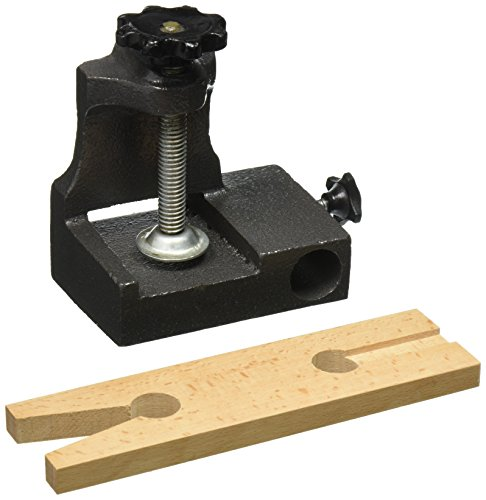 (SE JT878BA Clamp-On Bench Anvil for Holding Wooden Pin, Ring, or Bracelet Mandrel)