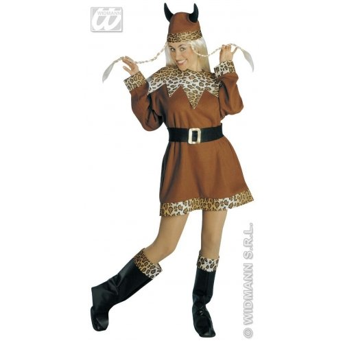Ladies Viking Lady Costume Extra Large Uk 18-20 For Sparticus Roman -