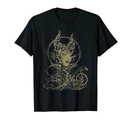 Disney Sleeping Beauty Maleficent Crow Branches T-Shirt