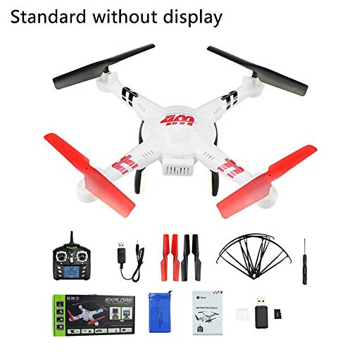 Drone live video drones with camera for adults for beginner Aircraft Aerial Photography Remote Control Aircraft Map UAV Model Airplane For Weili V686G FPV Real - Time Transmission Four - Axis (Map Aerial Photography)