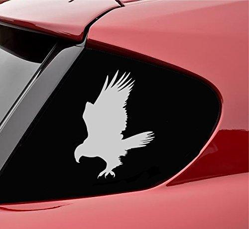 Hawk silhouette Vinyl Decal Sticker (Satin ()