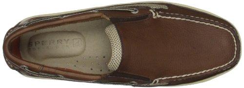 Sperry Top-Sider Billfish Slip On C - Náuticos de cuero hombre, color marrón, talla 40 (7 UK)
