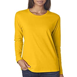 Gildan G540L Ladies 5.3 oz. Heavy Cotton Missy Fit Long-Sleeve T-Shirt