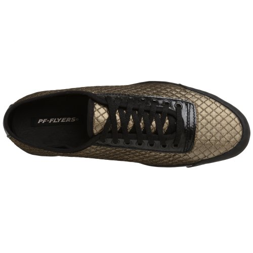 Pf Flyers Mujer Pintada Sneaker Gold