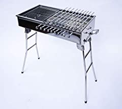 These Charcoal Grills have been tested and sold in Europe for many years and today are available in USA and Canada They are also called Mangal, Kebab grill or Brazilian BBQ and are used to cook Souvlaki, Kebab, Shashlik, etc. Its size and des...