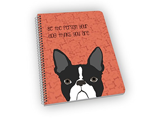 Boston Terrier Notebook for Dog Lovers - A Great Gift for Dog Owners and Pet - Boston In Shopping