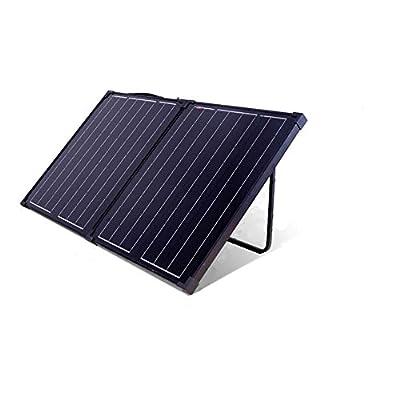 100W - Portable Folding 12v Camping Solar Panel