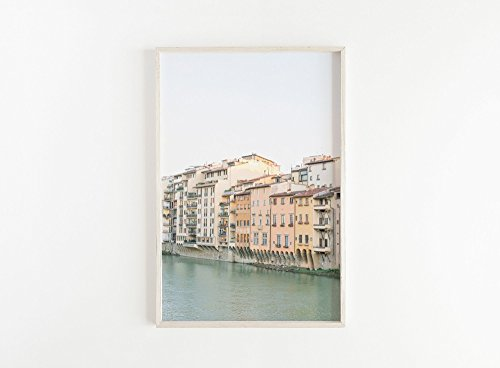 Florence Italy Pastel Large Print Wall Art Travel Photography Home Decor Statement Nursery Modern by lovely little home co.