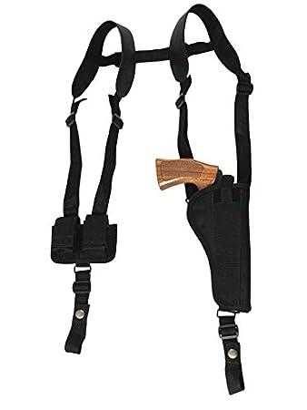 Amazon.com: Barsony nuevo vertical pistolera de hombro w ...