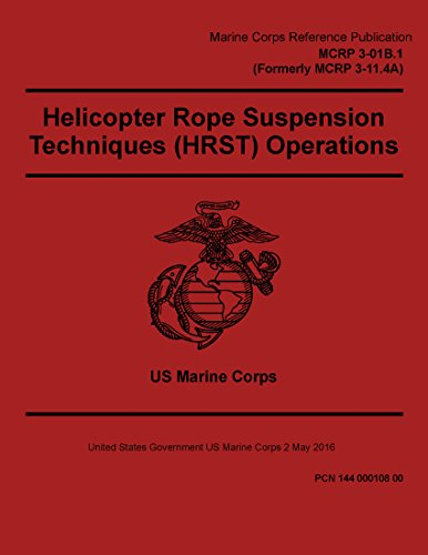 Marine Corps Reference Publication MCRP 3-01B.1 MCRP 3-11.4A Helicopter Rope Suspension Techniques (HRST) Operations 2 May 2016 (0.1% Suspension)