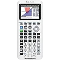 TI-84 Plus CE Color Graphing Calculator, White