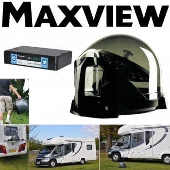 Maxview – VU Qube II Auto – para de TV y Radio de recepción vía satélite – Transparente: Amazon.es: Electrónica