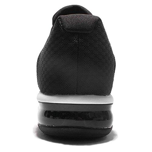 Nike Herren Air Max Sequent 2 Gymnastikschuhe, Schwarz, UK mehrfarbig (Black/White/Dark Grey/Wolf Grey 005)