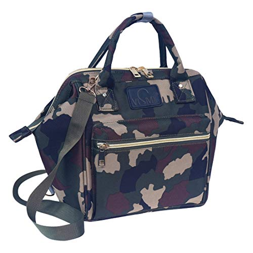 VISMIINTREND Diaper Bag and Diaper Backpack for Mothers Mini Camouflage
