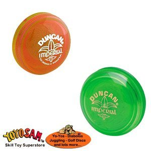 Duncan Imperial Yo-Yo 2-pack - Green/Orange by Duncan